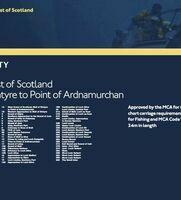 SC5611 West Coast of Scotland Admiralty Leisure Folio