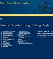 SC5612 Northern Ireland: Carlingford Lough to Lough Foyle Admiralty Leisure Folio