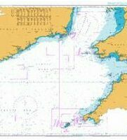 1123 Western Approaches to St. George\'s and Bristol Channel Admiralty Chart