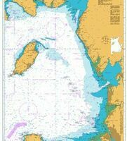 1826 Irish Sea - Eastern Part Admiralty Chart