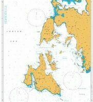 203 Nisos Zakinthos to Nisos Paxoi Admiralty Chart