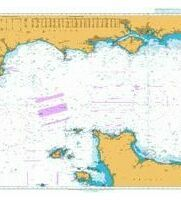 2656 English Channel, Central Part Admiralty Chart