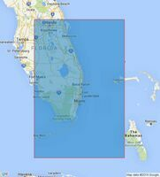 2866 Cape Canaveral to Key West including the Western Part of The Bahama Banks Admiralty Chart