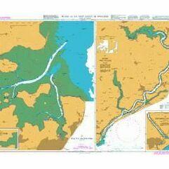 England - Dover to Felixstowe, Thames Estuary, R. Thames