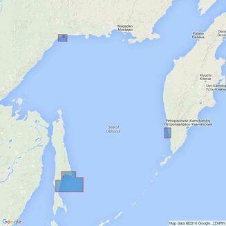 Folio 56 Korean Gulf, Siberia, Sakhalin & Kuril