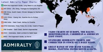 Round-up of the Latest Admiralty Charts