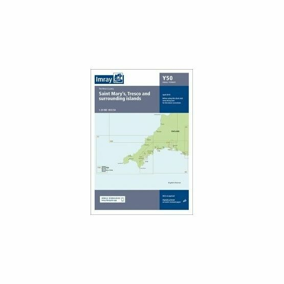 Imray Chart Y50: Saint Mary's, Tresco & Surrounding Islands
