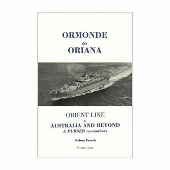 Ormonde to Oriana (Slight damage to cover)