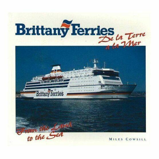 Brittany Ferries De la Terre a la mer (Crease on cover)