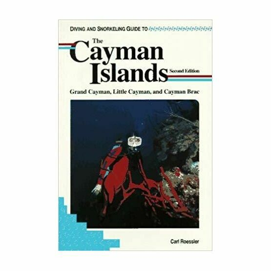 Diving and Snorkeling guide to the Cayman Islands (slightly faded binder)