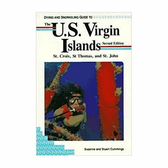 Diving and Snorkeling guide to the U.S. Virgin Islands (slightly faded binder)
