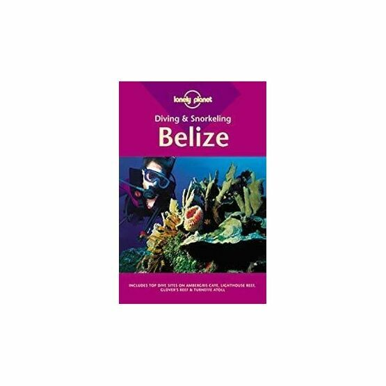 Lonely Planet Diving & Snorkeling Belize (slightly faded binder)