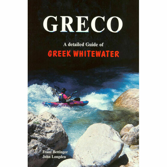 Greco - A detailed guide of Greek White Water (faded cover)