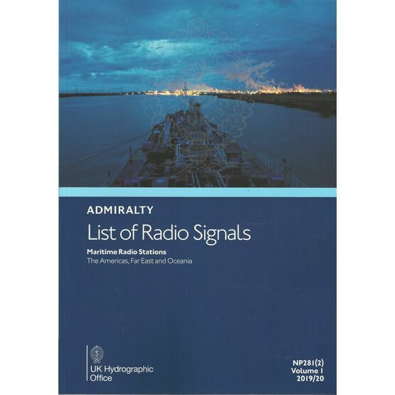 Admiralty NP281(2) List of Radio Signals 2019/20