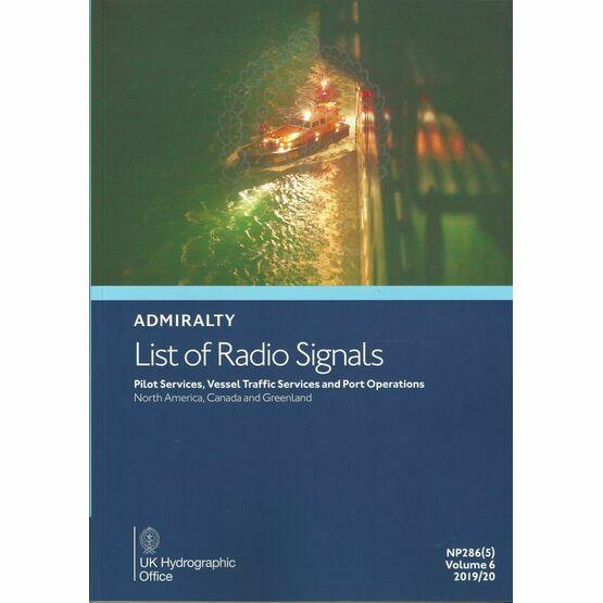 Admiralty NP286(5) List of Radio Signals 2019/20