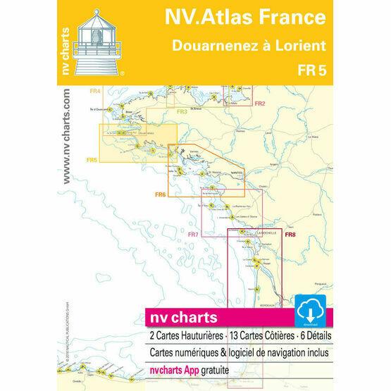 NV. Atlas France FR5: Douarnenez to Lorient