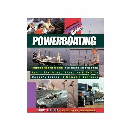 Powerboating: A Woman's Guide (Fading to Cover)