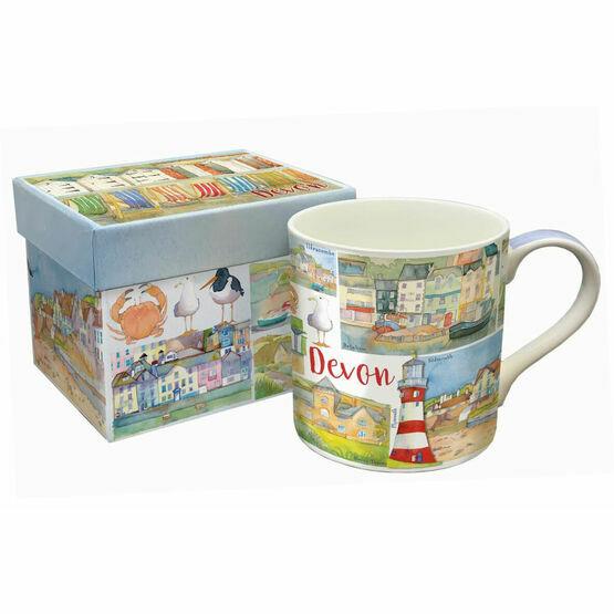 Emma Ball Devon Bone China Mug With Gift Box
