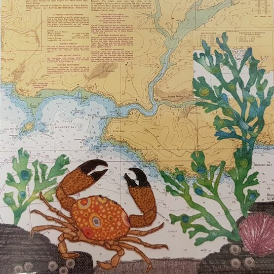 Hannah Wisdom Yealm Crab Card