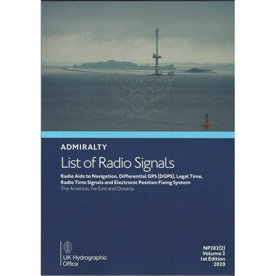 Admiralty List of Radio Signals - NP282 Vol 2, Part 2