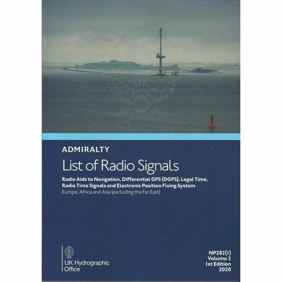 Admiralty List of Radio Signals - NP282 Vol 2, Part 1