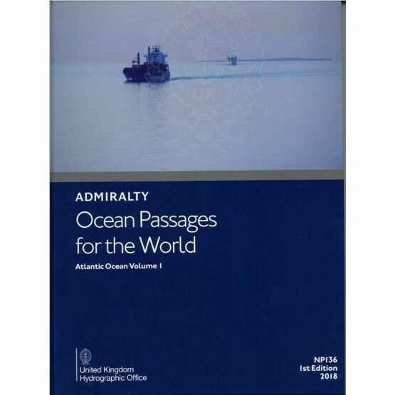 Admiralty NP136(1) Ocean Passages for the World Volume 1: Atlantic Ocean