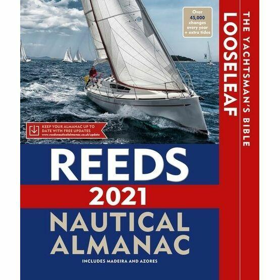 Reeds 2021 Looseleaf Nautical Almanac With Folder