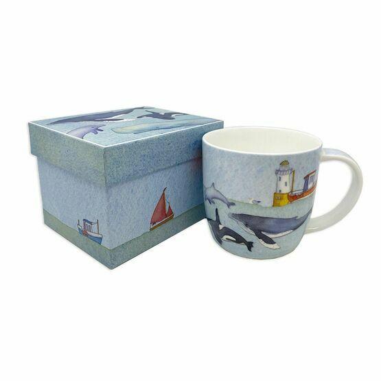 Emma Ball Under the Sea Bone China Mug with Gift Box