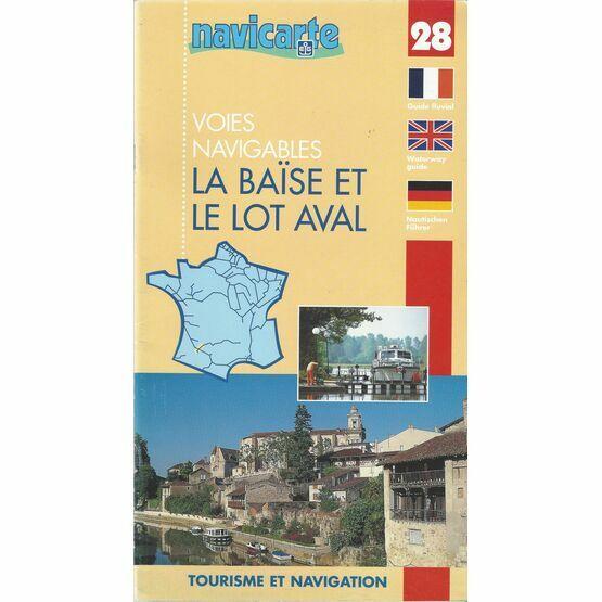 Imray Navicarte 28 La Baise Et Le Lot Aval