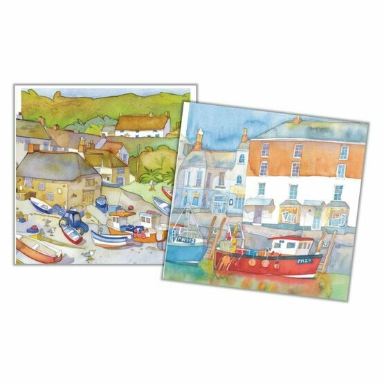 Emma Ball Harbour II Mini Cards (Pack of 10)