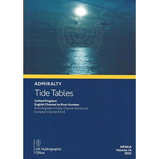 Admiralty NP201A-22 Tide Tables: UK - English Channel to River Humber 2022