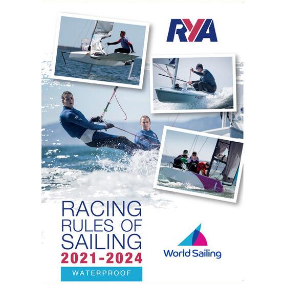 RYA Racing Rules of Sailing 2021 - 2024 Waterproof