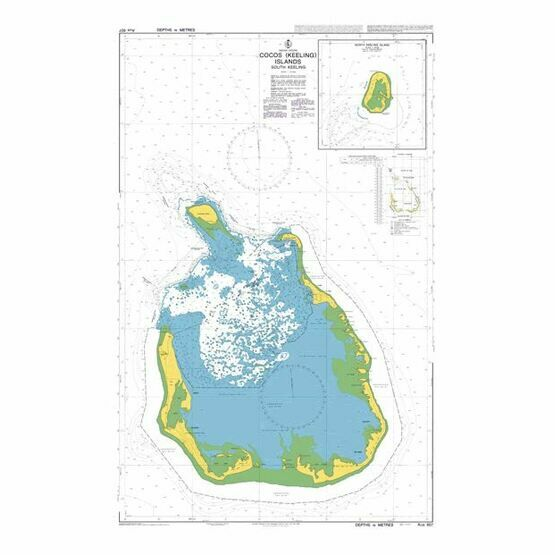 AUS607 South Keeling Admiralty Chart
