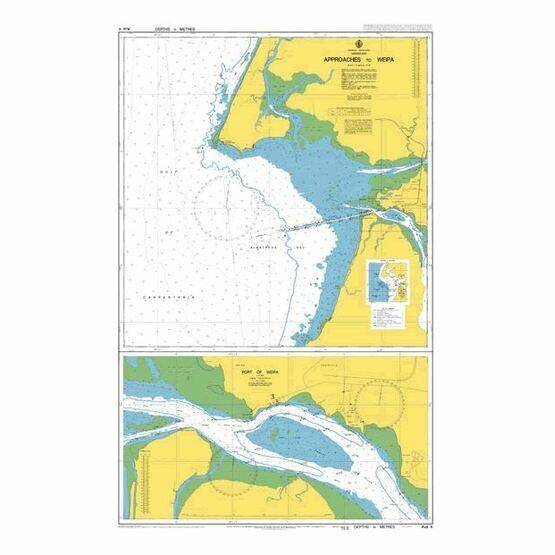 AUS4 Approaches to Weipa Admiralty Chart