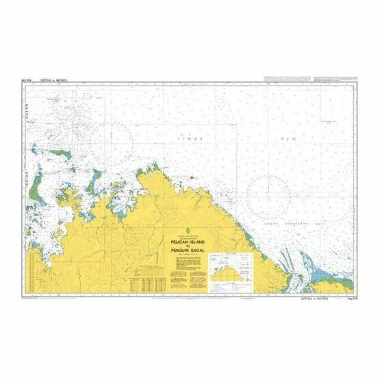 AUS318 Pelican Island to Penguin Shoal Admiralty Chart