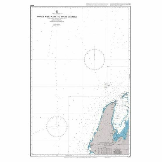 AUS329 North West Cape to Point Cloates Admiralty Chart