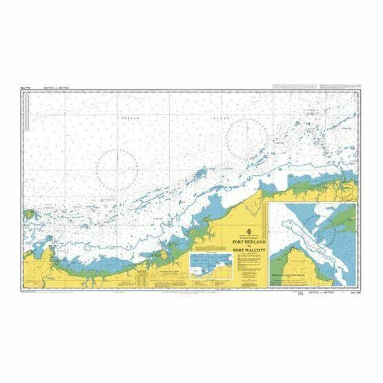 AUS740 Port Hedland to Port Walcott Admiralty Chart