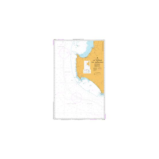 AUS335 Cape Naturaliste to Point D'Entrecasteaux Admiralty Chart