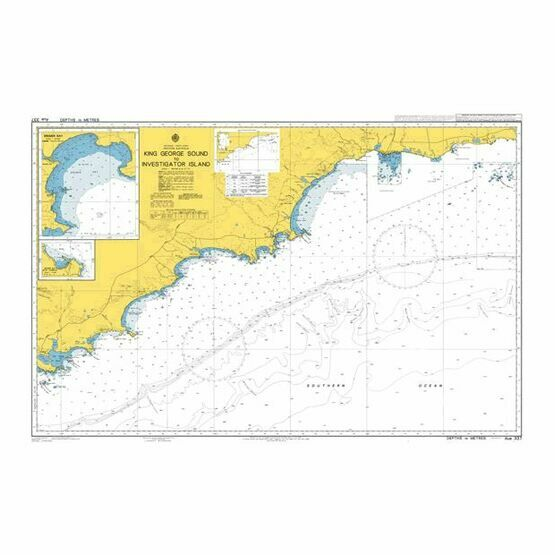 AUS337 King George Sound to Investigator Island Admiralty Chart