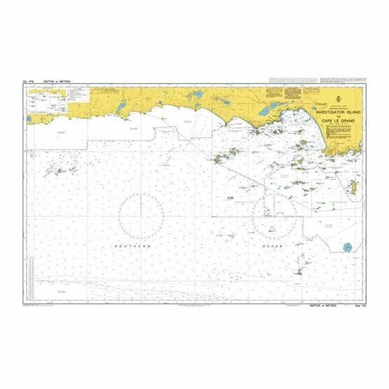 AUS762 Investigator Island to Cape Le Grand Admiralty Chart