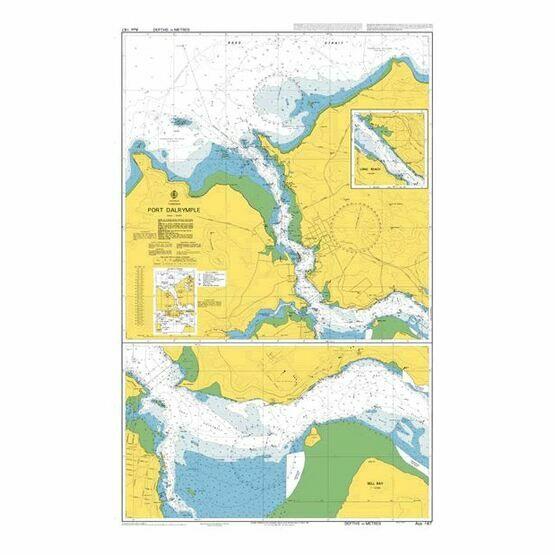 AUS167 Port Dalrymple Admiralty Chart