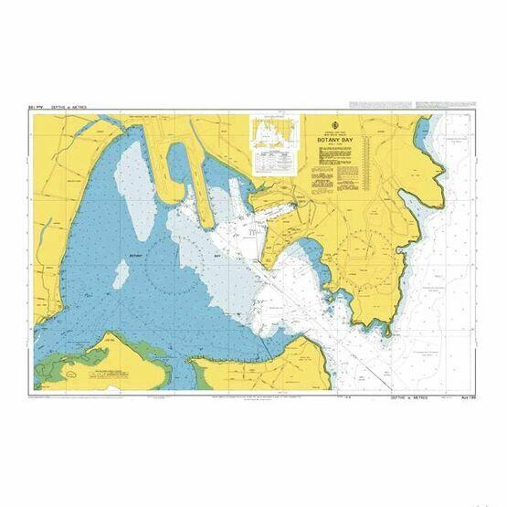 AUS199 Botany Bay Admiralty Chart