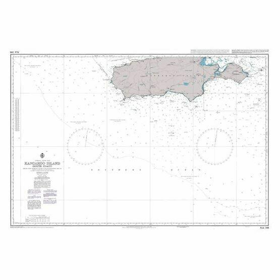 AUS346 Australia - Kangaroo Island (South Coast) Admiralty Chart