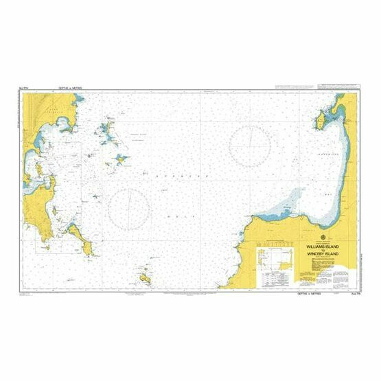 AUS776 Williams Island to Winceby Island Admiralty Chart