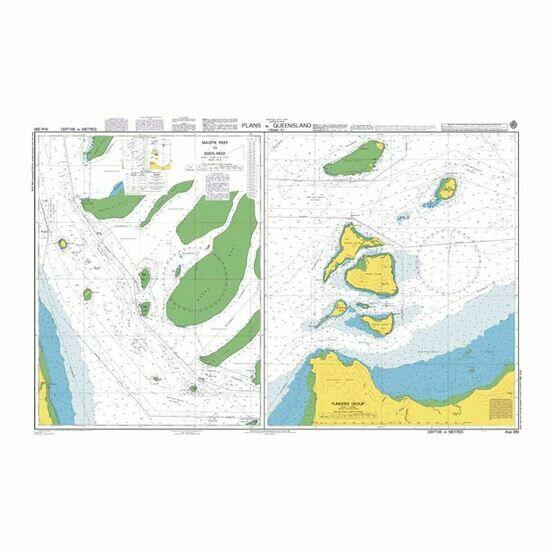 AUS280 Plans in Queensland Admiralty Chart