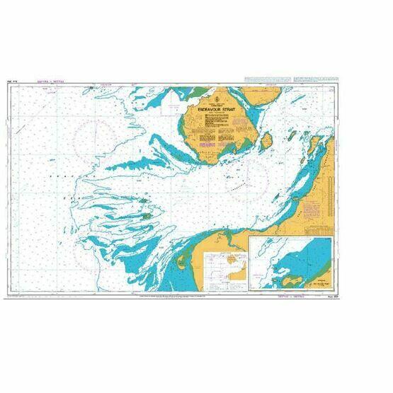 AUS294 Endeavour Strait Admiralty Chart