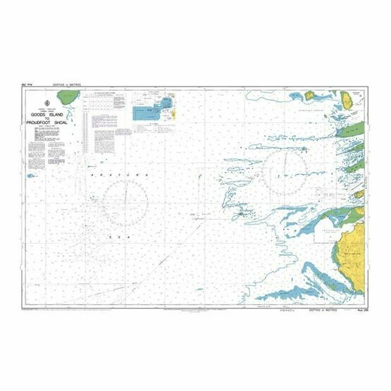 AUS296 Goods Island to Proudfoot Shoal Admiralty Chart