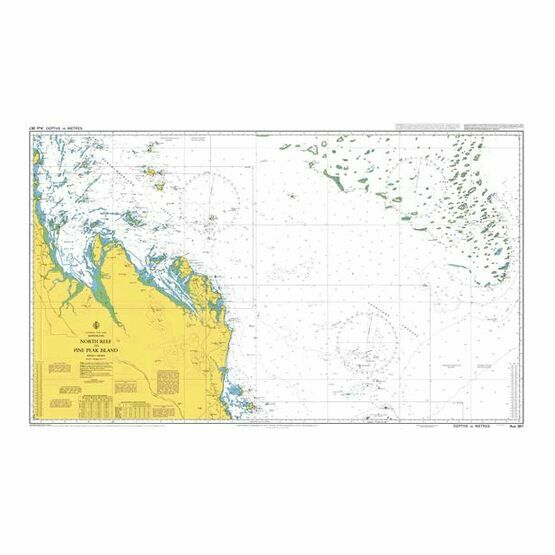 AUS367 Swain Reefs to Penrith Island Admiralty Chart