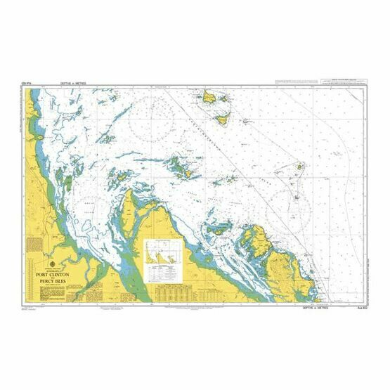 AUS822 Port Clinton to Percy Isles Admiralty Chart