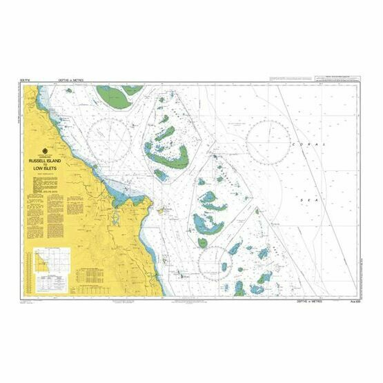 AUS830 Russell Island to Low Islets Admiralty Chart